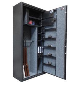 1403 Szafa na broń długą - 4 skarbczyki, półka