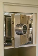 1583 Szafa na broń - flat safe (stal nierdzewna)