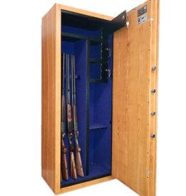 1013 Szafa S2 na broń długą - kolor drewna