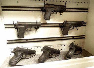 Szafa na broń krótką