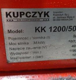 Kompresor - sprężarka KUPCZYK 500 l 10 bar