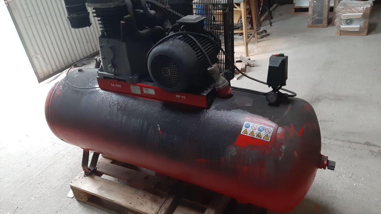 Kompresor - sprężarka KUPCZYK, 500 litrów, 10 bar