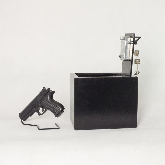 1827 Kasetka/Sejf samochodowy do broni krótkiej