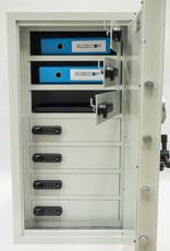 1617 Segment na 7 laptopów z elektronicznymi zamkami szyfrowymi L-7