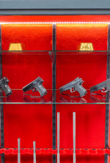 1843 Witryna Pantzerglass na broń długą i krótką ze szklanymi półkami