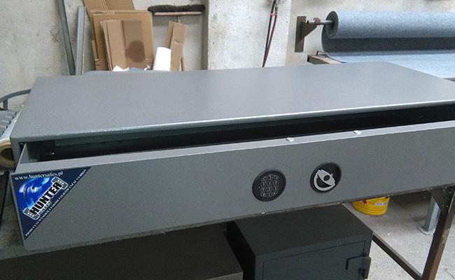 """1520 Szuflada na broń """"flat safe"""" - 130cm"""
