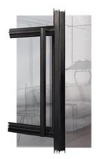 Stalowe drzwi loftowe - z ościeżnicą
