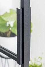 Stalowe drzwi loftowe - przesuwne