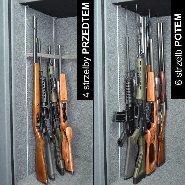EU - Rifle Rods - uchwyty do broni długiej