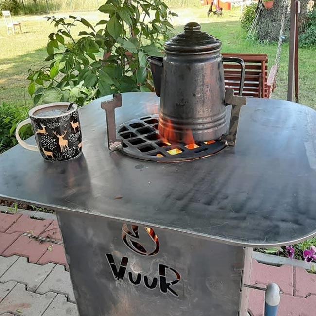 1872 Multi Grill VuuR - grill / ruszt / blat do smażenia / koksownik
