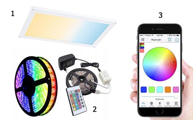 Oświetlenie LED do szaf PantzerGlass
