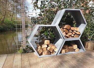 Stojaki na drewno / Drewutnie ogrodowe