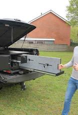 Sejf samochodowy z szufladami do transportu broni i amunicji