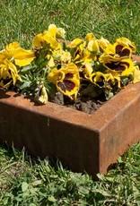 Mała donica ogrodowa Corten