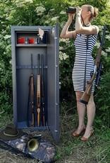 1007 Szafa na broń długą z szerokim skarbczykiem