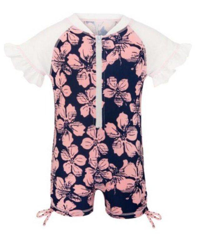 UV pakje Hibiscus Navy Pink - Snapper Rock