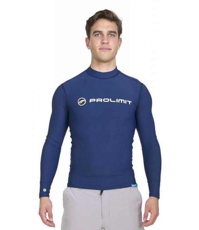 UV Rashguard Heren Lange Mouwen Blauw - Prolimit