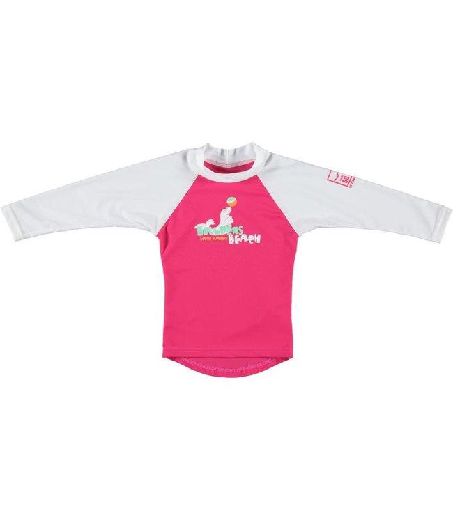 UV shirt Boulders Beach strawberry roze - Sonpakkie