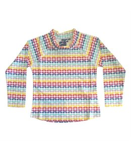 UV werend Shirt 'Rainbow Geo' lange mouwen - Sandy Feet