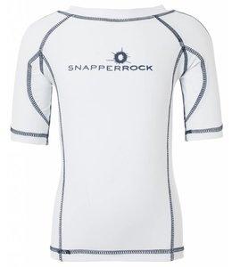 UV Shirt Jongen Wit & Blauw - Snapper Rock