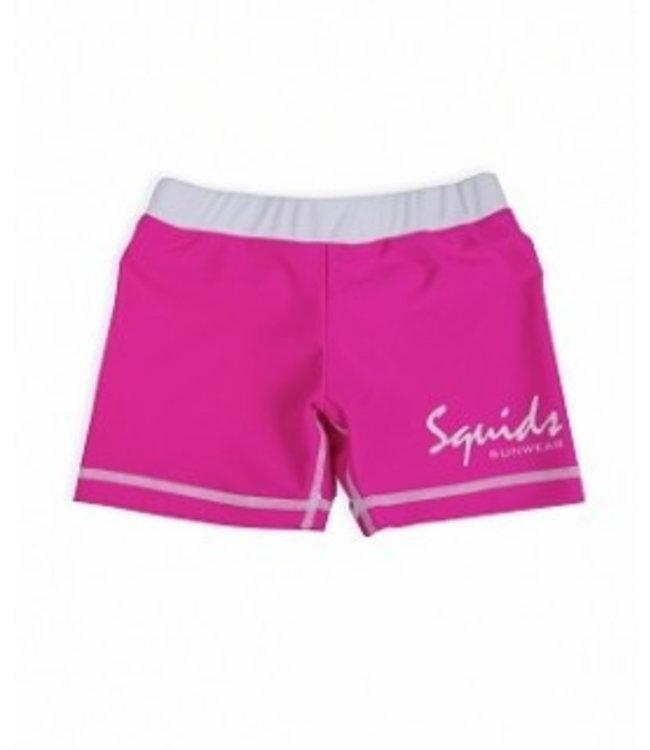 Zwemshort Pink Power - Squids Sunwear