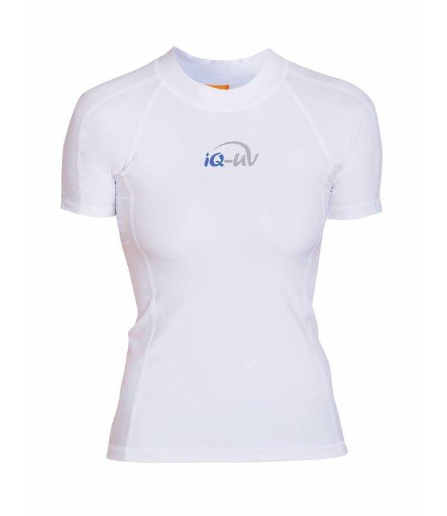 UV zwemshirt Dames Wit - IQ-UV