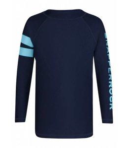 UV shirt lange mouwen donkerblauw - Snapper Rock