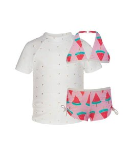 Bikini UV-shirt zwemset Watermeloen - Snapper Rock