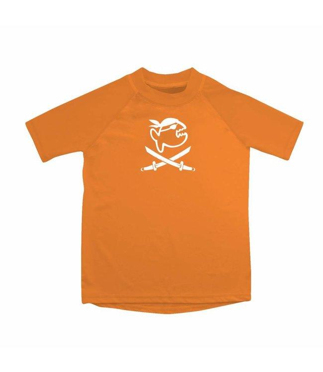 UV werend shirt oranje kind (6-14jr) - IQ-UV