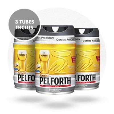 PACK FÛTS PELFORTH BLONDE