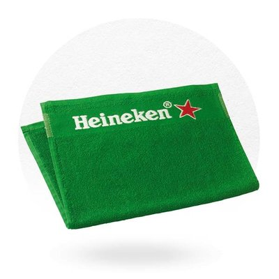 SERVIETTE DE BAR HEINEKEN