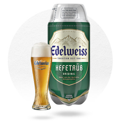 TORP EDELWEISS HEFETRÜB (2L)