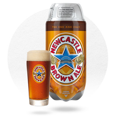 TORP NEWCASTLE BROWN ALE (2L)