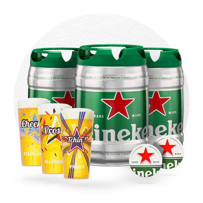 PACK HEINEKEN DAY 5L