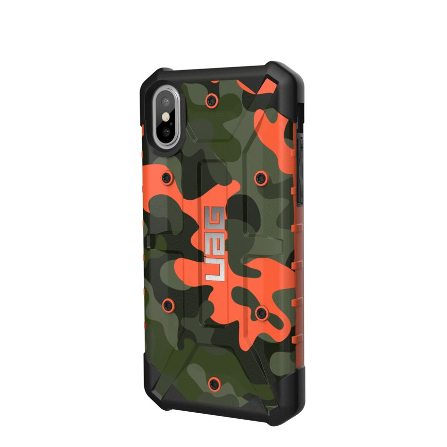 the latest 9455d 03ec6 UAG UAG Pathfinder Camo Series Case for Apple iPhone X/Xs - Rust Camo