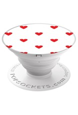 PopSockets PopSockets Device Stand and Grip - Hearting