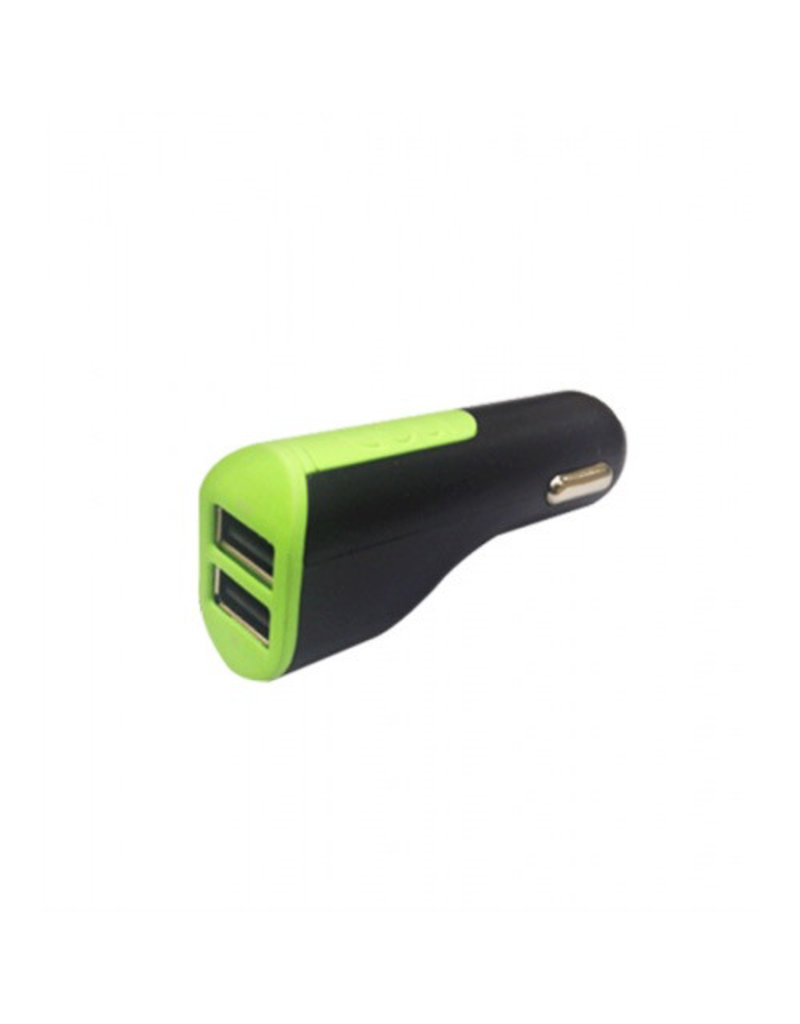 Goui Goui Car Charger 2-USB, Output 3.1A - Black