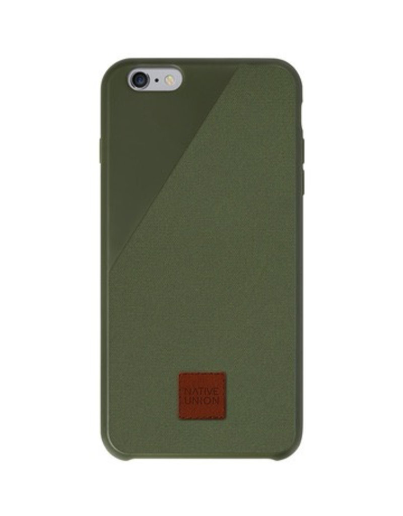 Native Union NATIVE UNION CLIC 360° DROP-PROOF  FOR IPHONE 6/6S PLUS - OLIVE