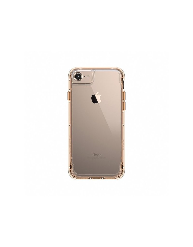 Griffin Griffin Survivor Clear Case for iPhone 7/8/SE - Clear/Gold