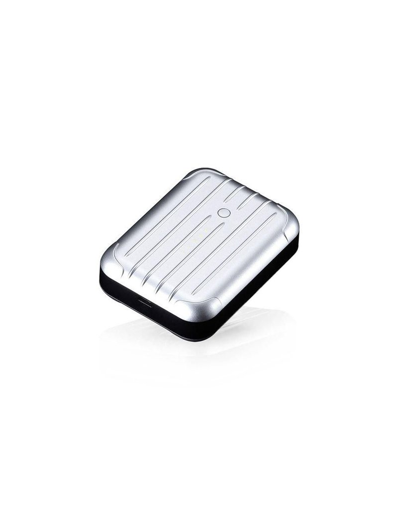 Just Mobile Just Mobile Gum++ High Capacity Backup Battery 6000 mAh - Silver
