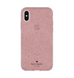 Incipio INCIPIO APPLE IPHONE X KATE SPADE NEW YORK FLEXIBLE GLITTER CASE - ROSE GOLD