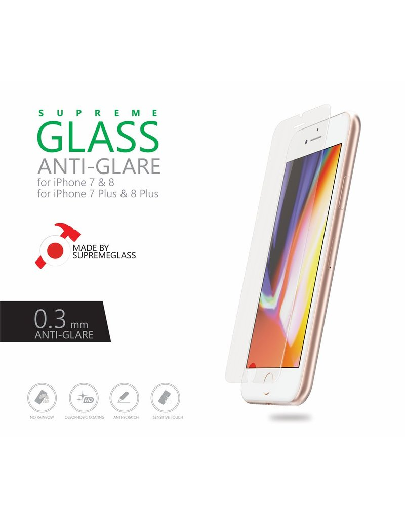 AMAZINGthing AT IPHONE 8 0.3MM ANTI-GLARE SUPREME GLASS (MATTE)