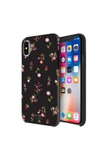 Incipio Incipio Apple iPhone X/Xs Kate Spade New York Protective Hardshell Case - Spriggy Floral Multi/ Black/ Gems