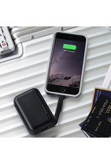 Just Mobile Just Mobile TopGum The Sophisticated Backup Battery 600mAh - Black