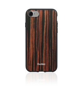Evutec Evutec Aer Wood Series for IPhone 7/8 (AFIX Included) - Ebony Wood (It Won't Support Wireless Charging)