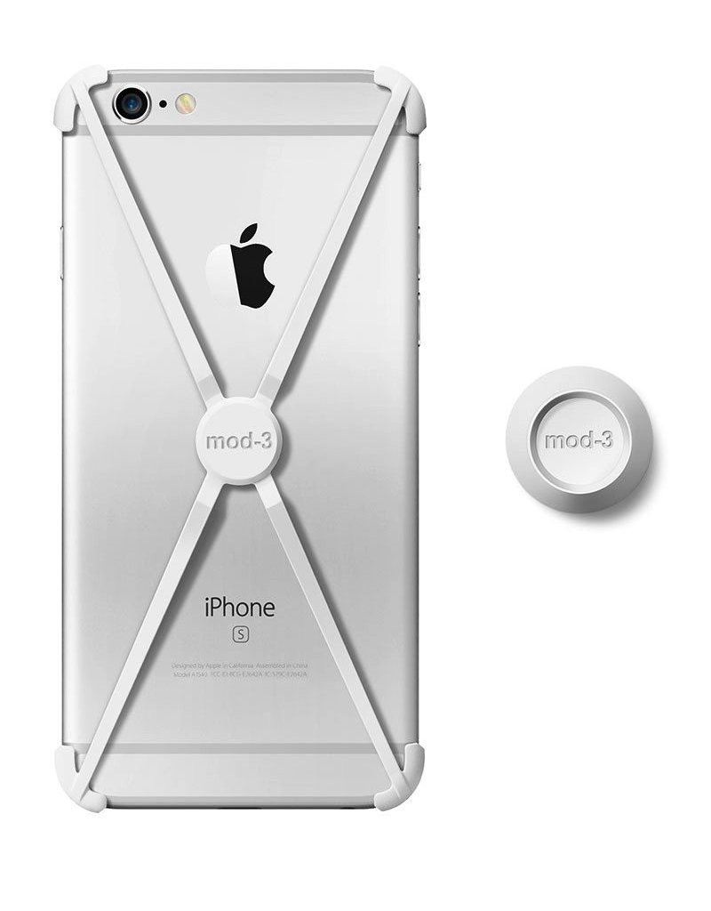 Mod-3 Mod-3 alt case for iPhone 6/6s plus - White  X-core Technology – Advanced Protection with wall Mount.