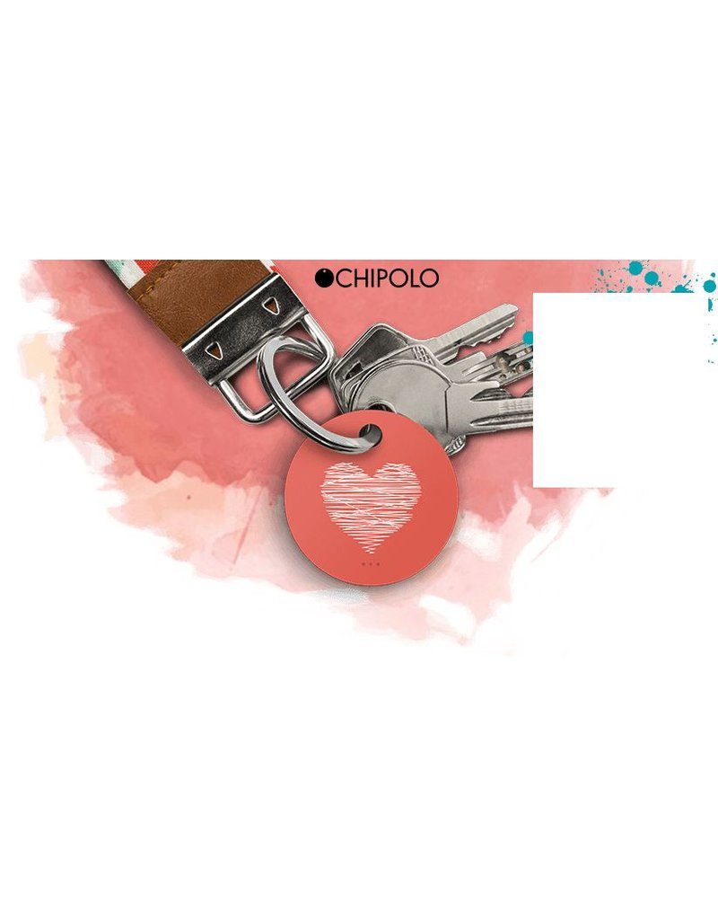 CHIPOLO Chipolo Plus-Valentine's Special. The world's loudest Bluetooth tracker.Easy to find your wallet, luggage, keys, phone and more.