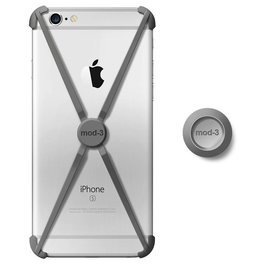 Mod-3 Mod-3 alt case for iPhone 6/6s -Space Grey  X-core Technology – Advanced Protection with wall Mount.
