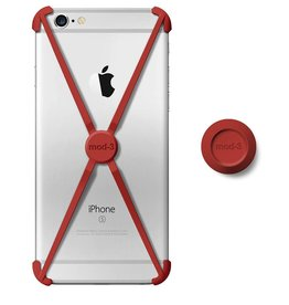 Mod-3 Mod-3 alt case for iPhone 6/6s plus - Red X-core Technology – Advanced Protection with wall Mount.