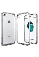 Spigen Spigen iPhone 7/8 Case Neo Hybrid Crystal- Satin Silver